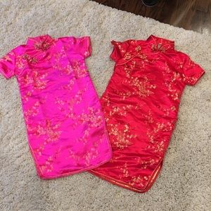Japones style dress for kids sizes 6 and 8